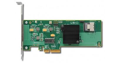 Контроллер LSI Logic SAS 9211-4I PCIE 4P/HBA 6GB/S LSI00191 LSI Included Accessories-SAS 9211-4i HBA, QIG, LP bracket