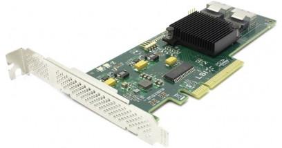 Контроллер LSI Logic SAS 9211-8I PCIE 8P HBA 6GB/S LSI00194