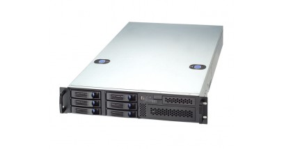Корпус Chenbro 2U RM23608T2-L 8xHotSWAP HDD with 6G miniSAS BP, P2G PSU Bracket, no PSU (RM23608H01*13027) (аналог CSE-825TQ)