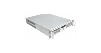 """Корпус Procase AD230-0 серебро {2U глубина 565мм, внешн 2x5.25, 1x3.5, внутр 4xHDD,MB 12""""""""x10.5"""""""", без Б/П PS2}"""