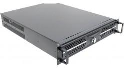 """Корпус Procase AD230-B-0 черный {2U глубина 565мм, внешн 2x5.25, 1x3.5, внутр 4xHDD, MB 12""""""""x10.5"""""""", без Б/П PS2}"""
