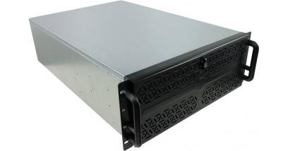 """Корпус Procase EB410L-B-0 черный {4U глубина 650мм, внешн 3x5.25, внутр 10xHDD, MB 12""""""""x13"""""""", без Б/П PS2}"""