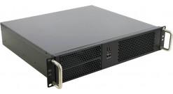 """Корпус Procase EM238-B-0 {2U Rack server case, черный, без Б/П, глубина 380мм, MB 9.6""""""""x9.6""""""""}"""
