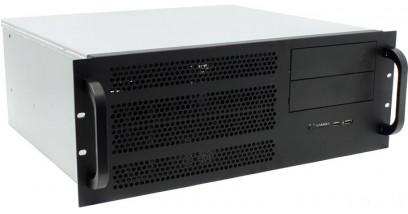 """Корпус Procase EM439-B-0 черный {4U глубина 390мм, внешн 1x5.25, внутр 4хHDD, MB 12""""""""x13"""""""", без Б/П PS2}"""