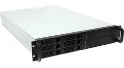 Корпус Procase ES206-SATA3-B-0 2U Black 6xHotSwap SAS/SATA, E-ATX, без БП