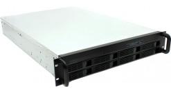 "Корпус Procase ES208-SATA3-B-0 {2U 8 SATAII/SAS hotswap HDD, глубина 650мм, MB 12""""x13"""", без Б/П,черный}"