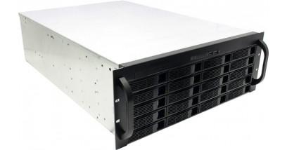 "Корпус Procase ES420-SATA3-B-0 {4U 20 SATAII/SAS hotswap HDD, глубина 650мм, MB 12""""x13"""", без Б/П,черный}"