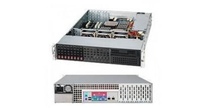 "Корпус Supermicro CSE-213LT-563LPB (Black) 2U, 8x 2.5"""" HS SAS/SATA HDD tray, 563W"