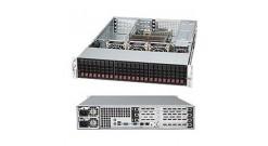 "Корпус Supermicro CSE-216E16-R1200UB; 2U, 1200W , 24x2.5"" SAS / SATA Hotswap,"