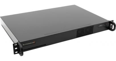 Корпус Supermicro CSE-510-200B; 1U, 200W , 1x Fixed, 437*43*287мм,