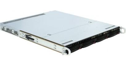 Корпус Supermicro CSE-813MTQ-R400CB Black 1U W/redundant 400W