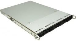 "Корпус Supermicro CSE-815TQ-563CB 1U 4x3.5""""SAS / SATA+2x5"""" Bays,563W, Rail"