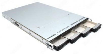 "Корпус Supermicro CSE-815TQ-R650B 1U 4x3.5""""SAS/SATA Bays, 2x650W, Rail"