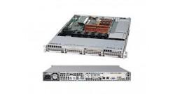 "Корпус Supermicro CSE-815TQ-R654CB 1U, 4x3.5"""" HS HDD, 2x650W DC (CSE-815TQ-R654CB)"