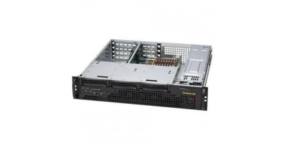 Корпус Supermicro CSE-825MTQ-R700LPB, 2U, 3x3.5'' SAS/SATA HS, 1xCOM+2xUSB FrontI/O, 1xSlim DVD-ROM, 700W(1+1) Redundant w/PFC