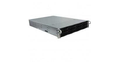 "Корпус Supermicro CSE-826BE16-R1K28LPB; 2U, 1300W, Redundant, 12*HDD SAS/SATA 3"", 1Ch Expander SAS2,"