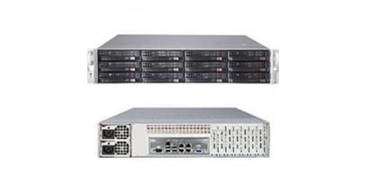 "Корпус Supermicro CSE-826BE16-R920LPB; 2U, 920W, Redundant, 12*HDD SAS/SATA 3"", 1Ch Expander SAS2, LP"
