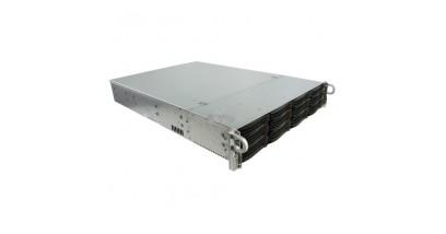 "Корпус Supermicro CSE-826BE26-R1K28LPB; 2U, 1300W, Redundant, 12*HDD SAS/SATA 3"", 2Ch Expander SAS2,"