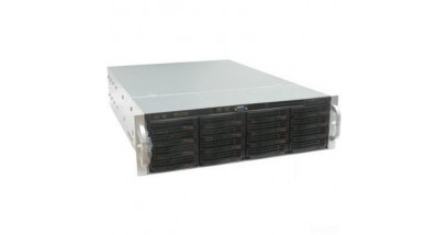 "Корпус Supermicro CSE-826BE26-R920LPB; 2U, 920W, Redundant, 12*HDD SAS/SATA 3"", 2Ch Expander SAS2, LP"