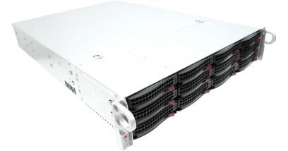 "Корпус Supermicro CSE-826E16-R1200LPB 2U 12x3.5""""SAS/SATA Bays, 2x800W, Rail"