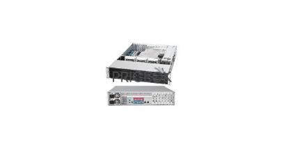 "Корпус Supermicro CSE-826E26-R1200LPB (Black) 2U Rack, 12x3.5""""SAS2/SATA HSW, 2xExpander, 1200W 1+1"