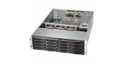 "Корпус Supermicro CSE-836BE26-R920B (Black) 3U Rack, 16x3.5""""SAS2/SATA + 2x2.5 opt, 2xExp, 920W 1+1"