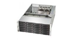 "Корпус Supermicro CSE-846BE16-R1K28B; Tower/4U, 1300W, Redundant, 24*HDD SAS/SATA 3"", 1Ch Expander SA"