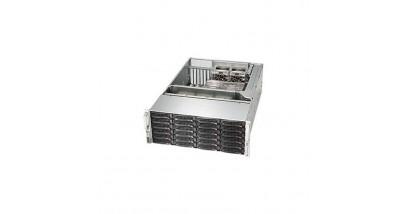 "Корпус Supermicro CSE-846BE26-R1K28B; Tower/4U, 1300W, Redundant, 24*HDD SAS/SATA 3"", 2Ch Expander SA"