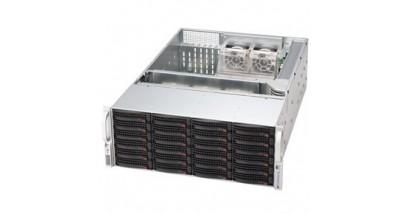 "Корпус Supermicro CSE-846TQ-R1200B 4U chassis 24 x 3.5"""" Hot-swap SAS/SATA Drive Bays 2*1200W"