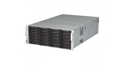 Корпус Supermicro CSE-847E16-R1400LPB - (Black) 4U, 36x(24 front+12 rear) 1xExpander, SAS-2, 2x1400W
