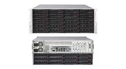"Корпус Supermicro CSE-847E16-R1K28LPB; Tower/4U, 1300W, Redundant, 36*HDD SAS/SATA 3"", 1Ch Expander S"