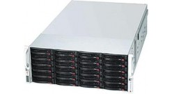 "Корпус Supermicro CSE-847E26-R1K28JBOD (Black) 4U Rack, 45*3.5""""SAS/SATA, 1280W 1+1"