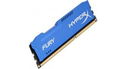 Модуль памяти Kingston 8GB PC14900 DDR3/FURY BLUE HX318C10F/8 KINGSTON Memory series-Fury/ Performance-Gaming/ Memory type-DDR3/ Frequency speed-1866 MHz/ Module form factor-240-pin DIMM/ Memory module capacity-8GB/ CL-10/ Memory timings-10-11-10/ Nominal