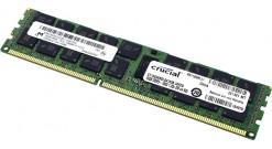 Модуль памяти Crucial 16GB DDR3 1600MHz PC3-12800 RDIMM ECC Reg CL9 Kit 4x4Gb 1...