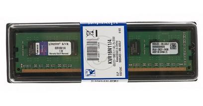 Модуль памяти Kingston DDR3 4Gb 1600MHz