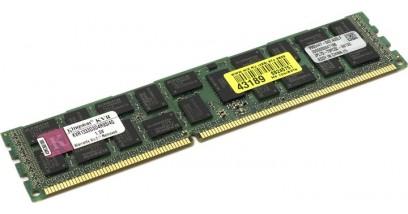 Модуль памяти Kingston 4GB (PC3-10600) 1333MHz ECC Reg CL9 Single Rank, x4 w/TS