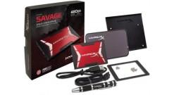 Накопитель SSD Kingston 480GB HyperX SAVAGE SSD SATA 3 2.5 Bundle Kit