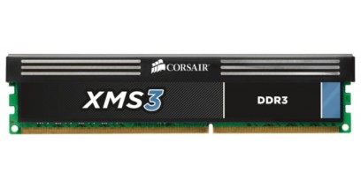 Модуль памяти Corsair DDR3 4Gb 1600MHz Corsair 240 DIMM 11-11-11-30, 1.5V, XMS3 with Classic Heat Spreader - Core i7, Core i5 and Core 2