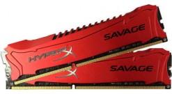 Модуль памяти Kingston DIMM DDR3 4096MBx2 PC12800 1600MHz HyperX Savage CL9-9-9 [HX316C9SRK2, 8] Retail