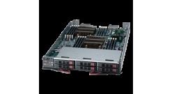 Блейд сервер Supermicro SBI-7127R-S6 OfficeBlade Module; 2xXeon E5-2600(v2), 16x..