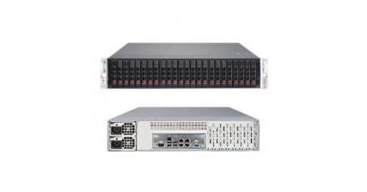 Серверная платформа Supermicro SSG-2027R-E1R24L 2U/2xLGA2011/iC602J/16*DDR3/24x2.5 SAS/4*GbLan/IPMI/VGA/2xJBOD/920W 1+1