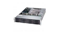 Серверная платформа Supermicro SSG-6027R-E1R12N 2U 2xLGA2011 iC602/24*DDR3/12x3...