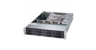 Серверная платформа Supermicro SSG-6027R-E1R12N 2U 2xLGA2011 iC602/24*DDR3/12x3.5 SAS/4*GLan/IPMI/VGA 2x920W