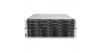 Серверная платформа Supermicro SSG-6047R-E1R24N 4U 2xLGA2011 iC602/24*DDR3/24x3.5 SAS/4*GLan/IPMI/VGA/2xJBOD 2x920W