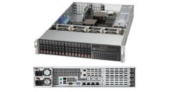 Серверная платформа Supermicro SYS-2027R-N3RFT+ 2U 2xLGA2011 iC606/24*DDR3/16x2.5 SAS/2*10GLan 2x920W