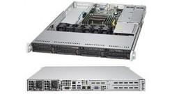 "Серверная платформа Supermicro SYS-5018R-WR 1U LGA2011 iC612, 8xDDR4, 4x3.5"""" bays, 2x1GbE, IPMI 2x500W"