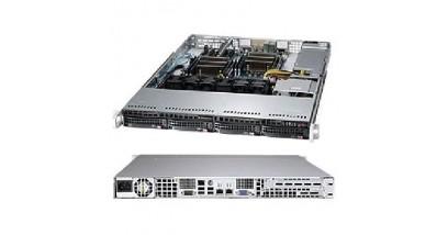 """Серверная платформа Supermicro SYS-6017R-TDAF 1U 2xLGA2011 Intel C602, 8xDDR3, 4xHDD 3.5""""""""SAS/SATA, 2xGbE 600W"""