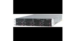 "Серверная платформа Supermicro SYS-6028R-TRT 2U2xLGA2011 C612, 16xDDR4, 8x3.5"""" HDD, 2x10GbE, IPMI 2x740W"