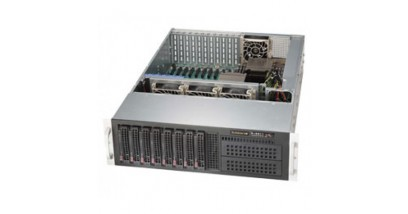 Серверная платформа Supermicro SYS-6037R-TXRF 3U/2xLGA2011/iC602/16xDDR3/8x3.5 SATA/10xPCI-E x8/2Glan/VGA/980W 1+1