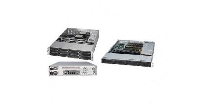Серверная платформа Supermicro SYS-8017R-7FT+ 1U 4xLGA2011 (E5-46xx) C602/32xDDR3/3x3.5 SAS/2x10GLAN/IPMI/VGA 1400W